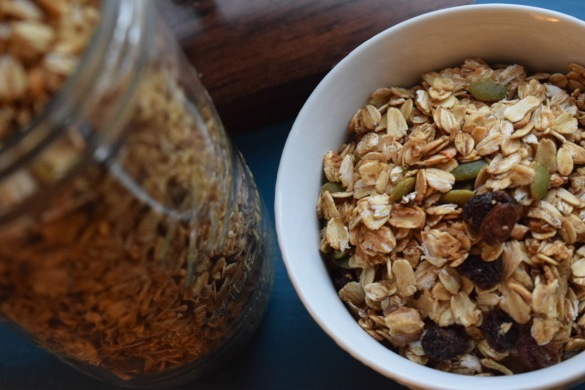 30-Minute Honey Granola