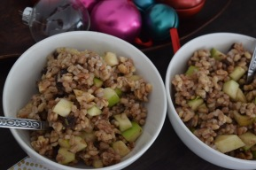 Apple Cinnamon Breakfast Grains