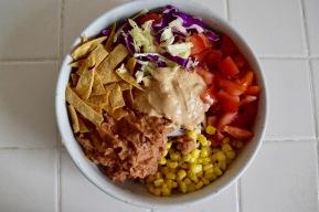 Creamy Chipotle Taco Salad