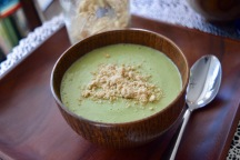 Cashew Cream of Broccoli Soup