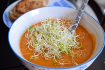 Cream of Cashew Tomato Soup