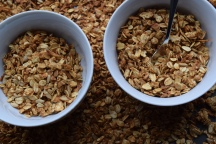 30-min Honey Granola